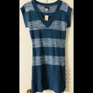 Dots Knit Tunic Vest💙New with Tags 💙Sleeveless